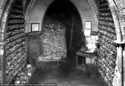 what is a charnel house photo of hythe st leonard s church the charnel house 1903
