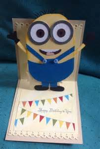 minion birthday card template party invitations ideas