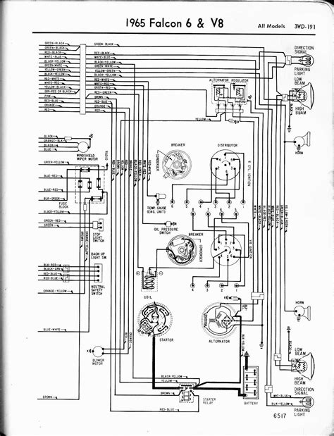 ford bf falcon wiring diagram ford wiring diagram