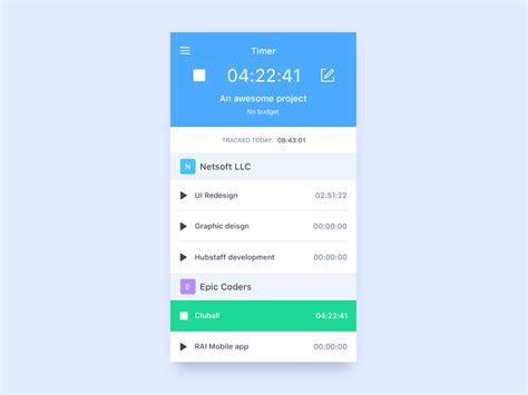 mobile time tracking mobile time tracking uplabs