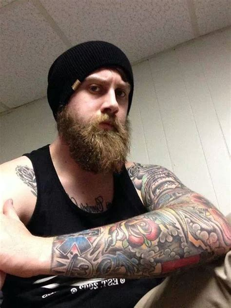 guys with beards and tattoos thick full beard tattoos tattooed tattoo beards bearded