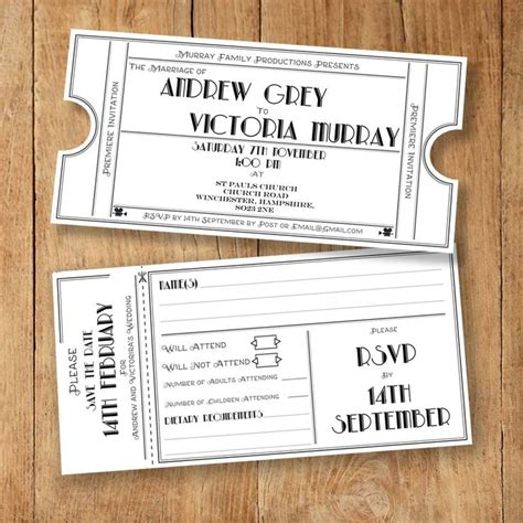 classic invitation card template printable wedding invites rsvp save the date and info