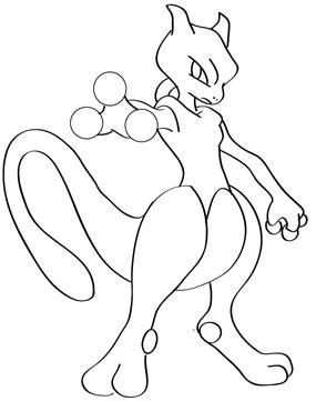 pokemon drawings mewtwo images pokemon images