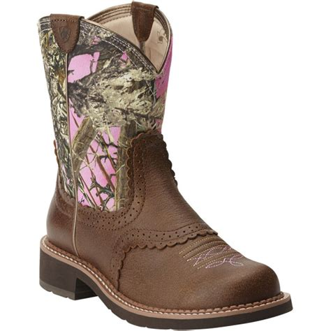 pink camo cowboy boots ariat s western boots