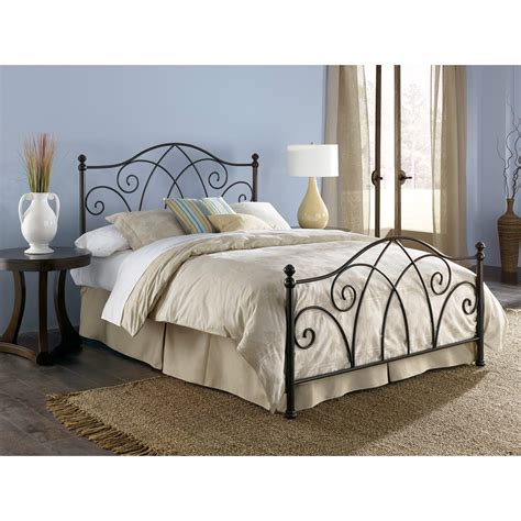 Black Wrought Iron Bed Frames Durable Black Wrought Iron Bed Frames For Bedding Sets Homes Showcase
