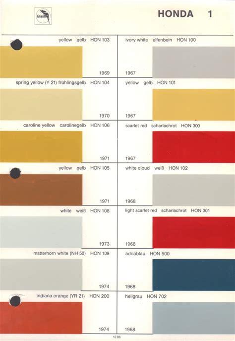 vintage honda paint colors vintage paint
