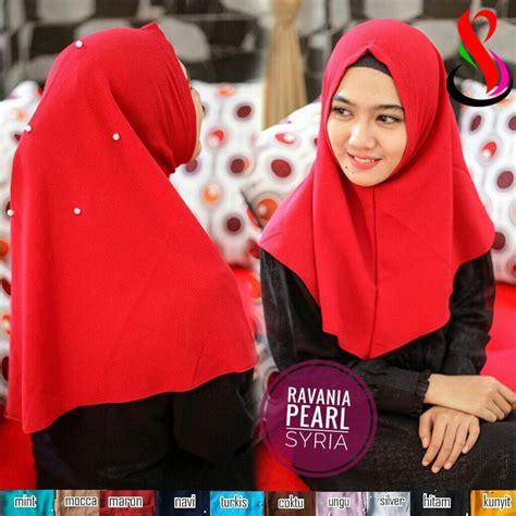 Instan Pearly 02 kerudung revania pearl sentral grosir jilbab kerudung i supplier jilbab i retail grosir