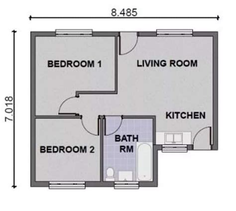 two bedroom simple house plans enjoyable design 2 bedrooms