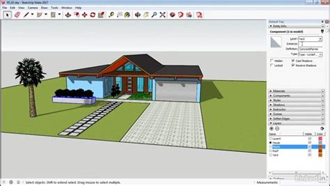 sketchup tutorial on layers work with layers