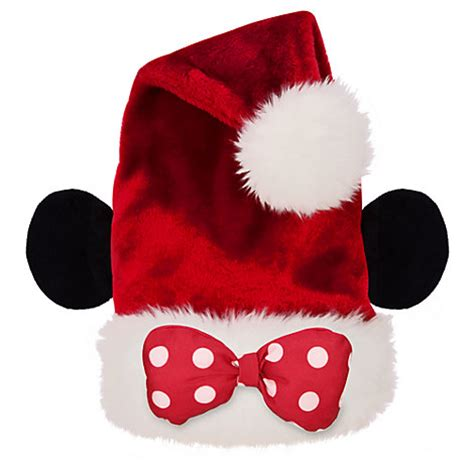 disney parks authentic minnie mouse bow tie santa ear hat
