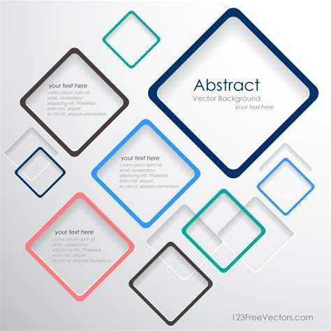 vector flyer design template 123freevectors vector abstract squares background template 123freevectors