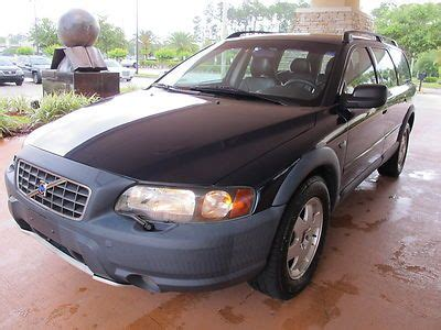 find   volvo xc cross country awd turbo wagon florida car  clean  reserve