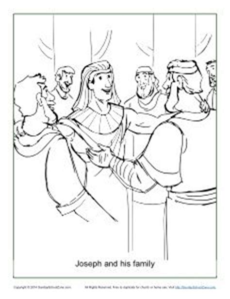 free coloring pages of joseph and his brothers coloring pages coloring and families on pinterest