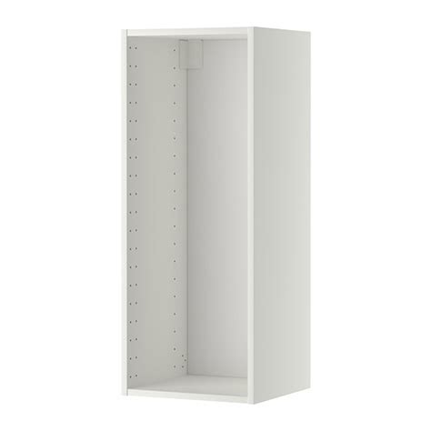 Wandschrank 80 Cm Breit by Metod Korpus Wandschrank Wei 223 40x37x100 Cm Ikea