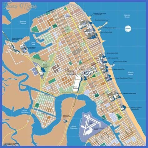 atlantic city map jersey city map toursmaps