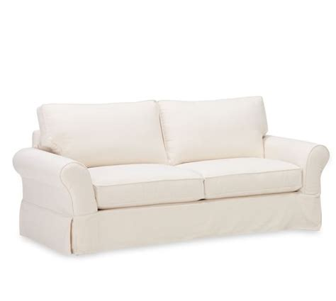 pottery barn comfort roll arm sofa pb comfort roll arm slipcovered sleeper sofa pottery barn