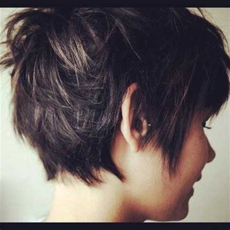 pixie hair back length hair on pinterest short hair styles short haircuts and
