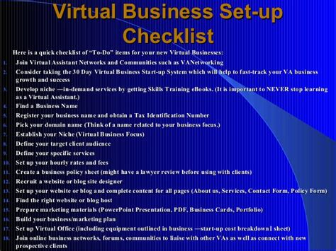 sle business plan virtual assistant how to start a lucrative career as a virtual assistant