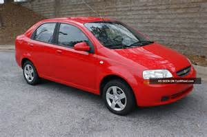 2005 chevrolet aveo ls sedan 4 door 1 6l
