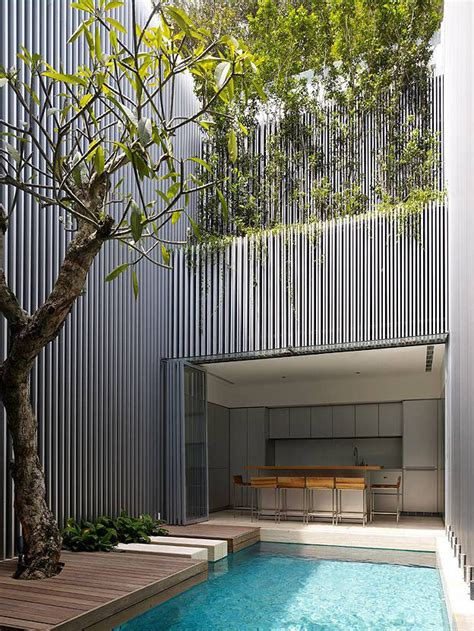 open plan contemporary house  singapore idesignarch