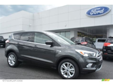 ford escape 2017 black 2017 magnetic ford escape se 112800937 gtcarlot com