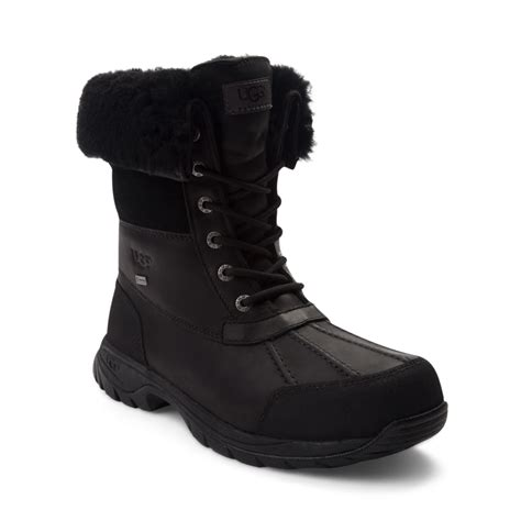 mens uggs boots mens ugg 174 butte boot black 895996