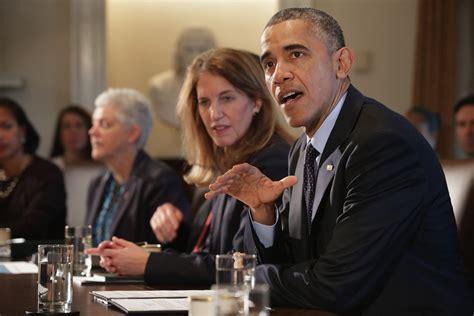 Current Cabinet Members Sylvia Mathews Burwell Photos Photos Barack Obama Meets
