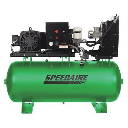 speedaire rotary air compressor 10hp 80 gal 40hu60 zoro
