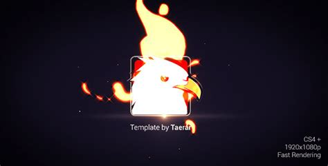 fire logo reveal after effects template videohive 5524715 after effects project