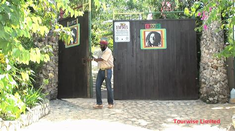 bob marley house bob marley s house and mausoleum in the village of nine miles jamaica youtube