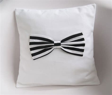 Bow Cushion Black 360 best images about staged in black white on