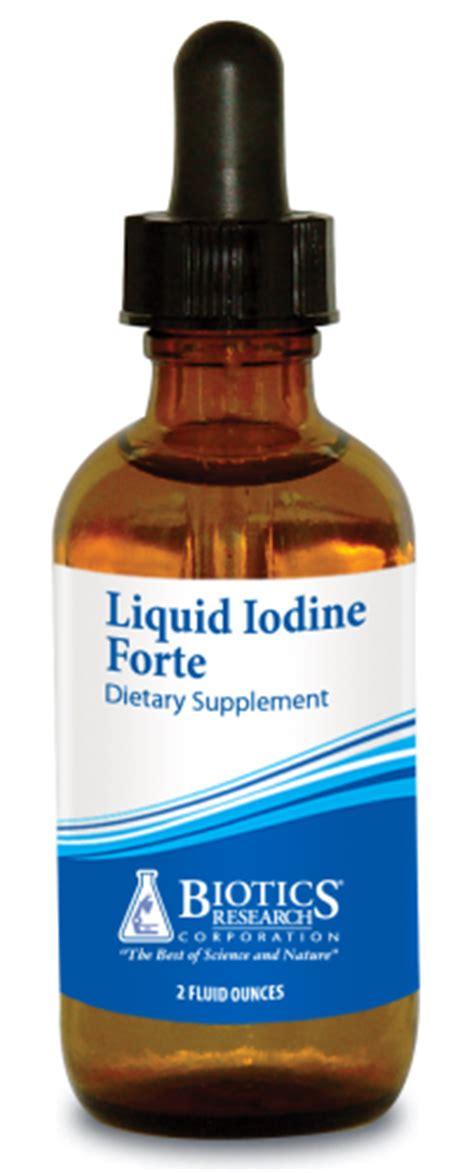 Iodine Detox Protocol by Liquid Iodine Forte 2oz Topical Applications Diverse