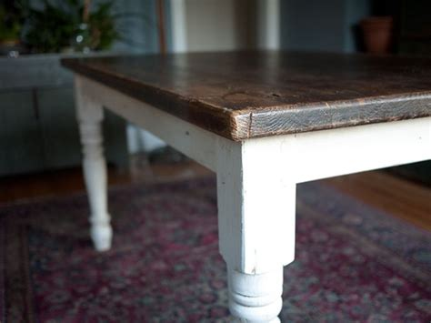 stain top   table   dark stain paint