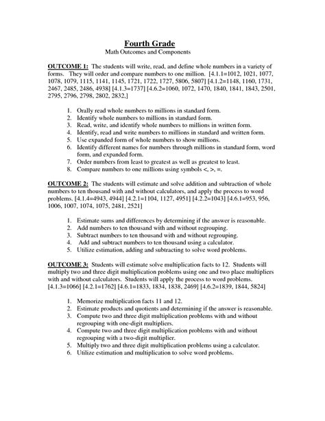 11 best images of 4th grade math worksheets word problems