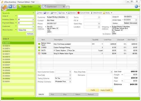 Small Home Business Software Accounting Inventory Sales Archon Systems Releases Inflow Inventory V3 Inventory