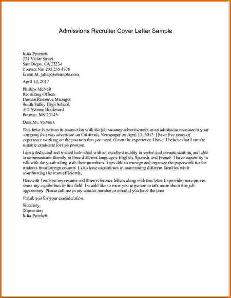Mit Cover Letter Mba by Cover Letter For Mba Admission 100 Original