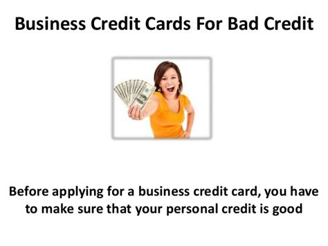 Business Cards For Bad Credit