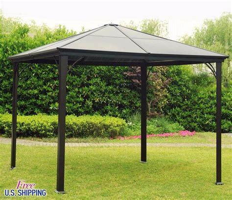 living home gazebo living home outdoors 10 x 12 aluminum hardtop gazebo bjs