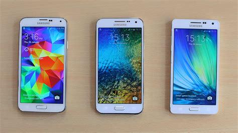 Samsung A5 Vs S5 Samsung Galaxy A5 Vs Galaxy E5 Vs Galaxy S5 Speed Test