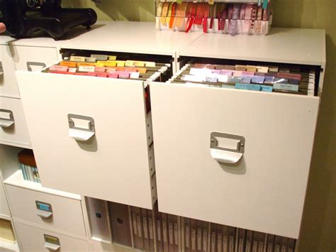 file cabinet for 12x12 paper all about the furniture file cabinets craft storage ideas