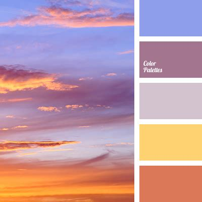 sunset color color of sea at sunset color palette ideas