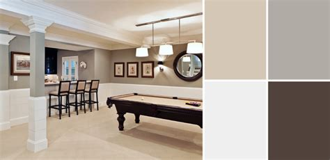 basement color schemes a palette guide to basement paint colors home tree atlas