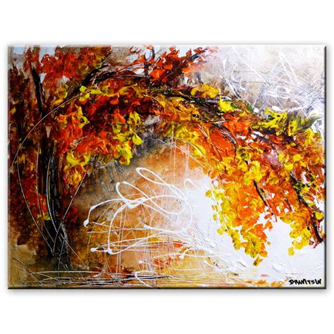 how to paint acrylic on canvas in abstract amazing landscape abstract painting by dranitsin
