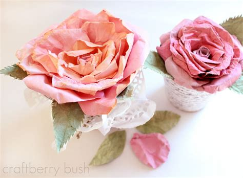 watercolor paper flower tutorial crepe and watercolor flower tutorial