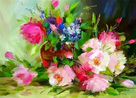 imagenes flores al oleo cuadros modernos pinturas y dibujos flores cuadros