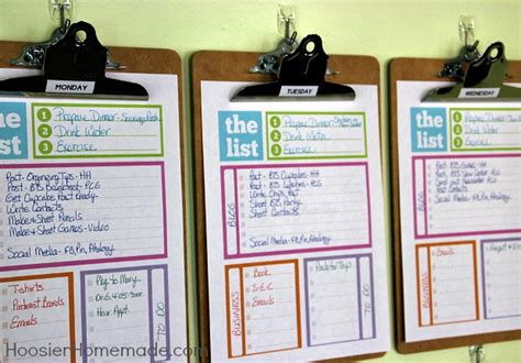 organization tips for school home organizing tips daily system hoosier homemade