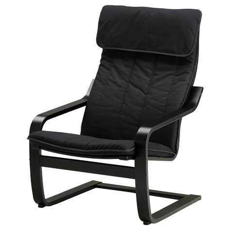 black armchairs po 196 ng armchair black brown ransta black ikea