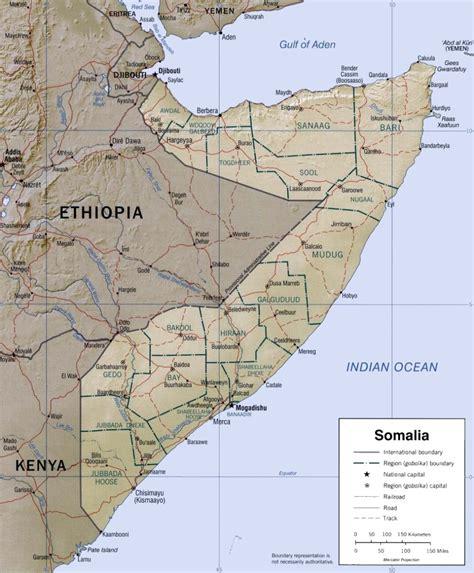 maps c somalia maps