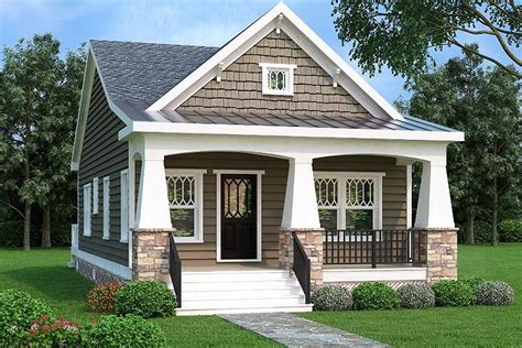 bungalow single story house plans unique 1 story craftsman