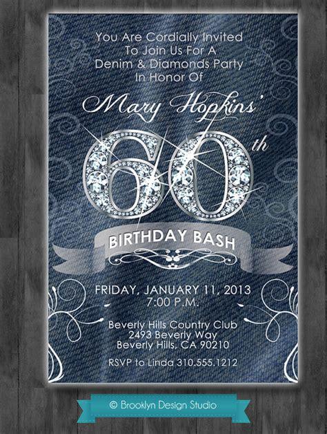 denim and diamonds custom designed party by